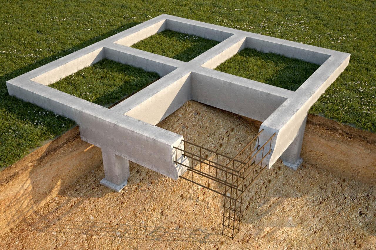 стоимость фундамента под дом 10 на 10