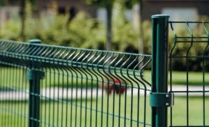 Забор из 3д сетки