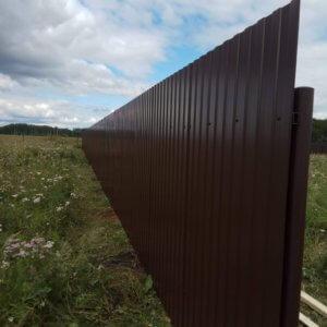 Купить забор в Екатеринбурге с монтажом
