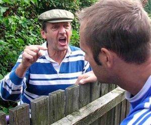 Споры соседей