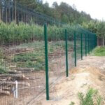 3д забор из сварной сетки