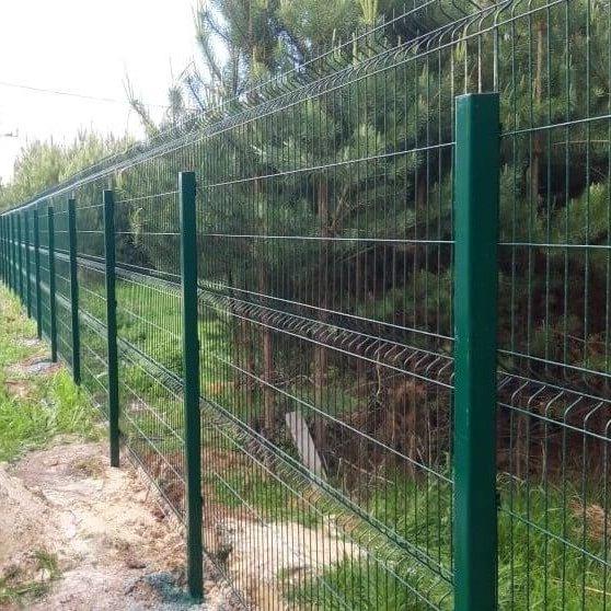 3 д Забор гриндлайт из сварной сетки
