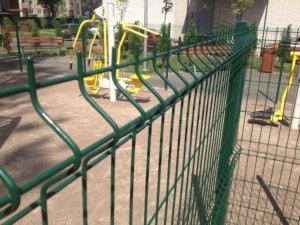 Забор для детской и спортивной площадки