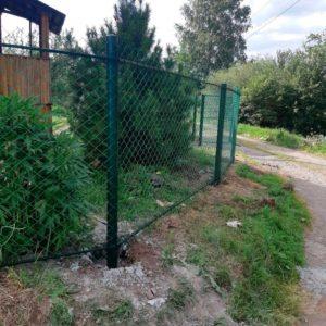 Забор из сетки рябица